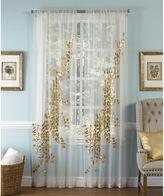 Callisto Aura Rod Pocket Sheer Window Curtain Panel