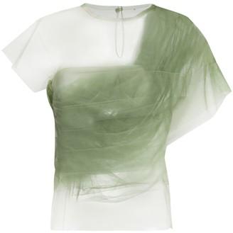 KHAITE Gianna silk top