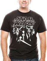 Star Wars STARWARS Force Awakens Stars Align Graphic Tee - Big & Tall