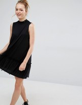 Monki Ruffle Trim Dress