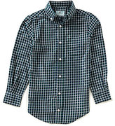 Class Club Big Boys 8-20 Checked Twill Shirt