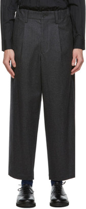 Issey Miyake Grey Light Milled Trousers