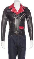 Saint Laurent Dégradé Sunset Moto Jacket