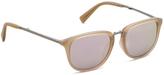 Kenneth Cole Black Plastic Foldable Aviator Sunglasses
