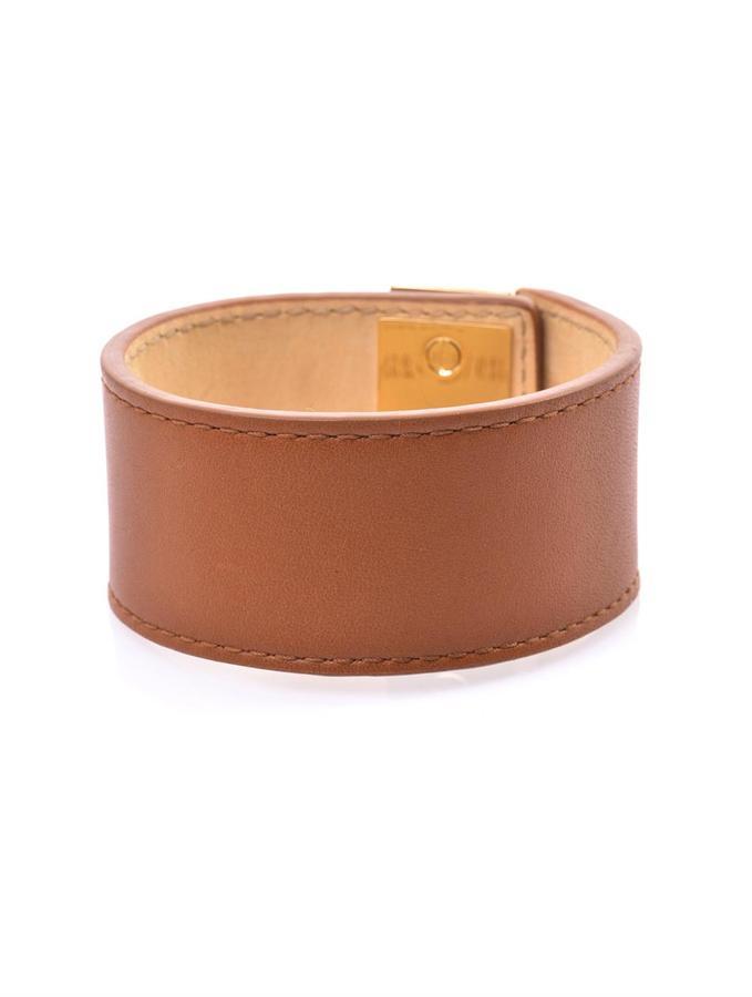 Balenciaga Le Dix leather cuff