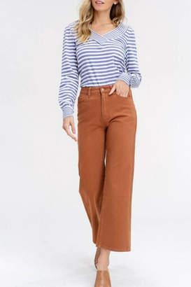 Listicle Wide-Leg Crop Pant
