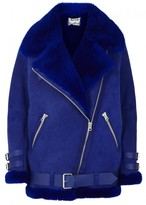 Acne Studios Velocite Shearling-lined Suede Jacket