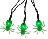 Philips Halloween LED Green Spider String Lights - 10 ct