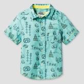 Genuine Kids from OshKosh Toddler Boys' Button Down Shirt - Genuine Kids from OshKosh® Ocean Green