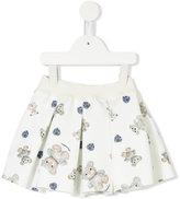 MonnaLisa teddy bear print skirt - kids - Polyester/Spandex/Elastane - 6 mth