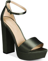 Aldo Nesida Two-Piece Platform Block-Heel Sandals Women's Shoes