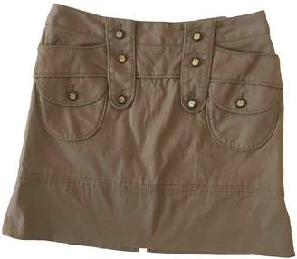 Dolce & Gabbana Beige Cotton - elasthane Skirt for Women