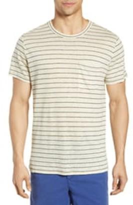 Rag & Bone Owen Stripe Print T-Shirt