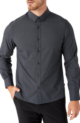 7 Diamonds Santiago Button-Up Performance Shirt