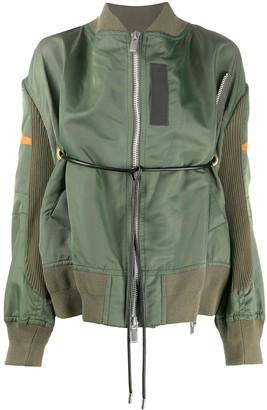 Sacai Belted Bomber Jacket
