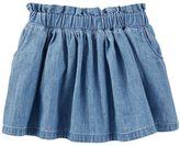 Osh Kosh Toddler Girl Chambray Skirt