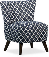 Souk Fillmore Fabric Accent Chair, Quick Ship
