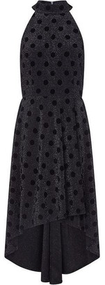 Yumi Spots And Sparkle Asymmetric Dress