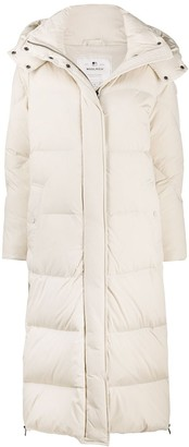 Woolrich Quilted Hooded Coat