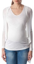 Pietro Brunelli Women's 'Daniela' Draped Maternity Cardigan
