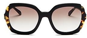 Prada Women's Square Sunglasses, 54mm