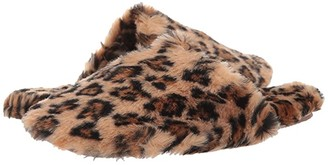 Madewell Scuff Slipper (Leopard Faux Fur) Women's Shoes