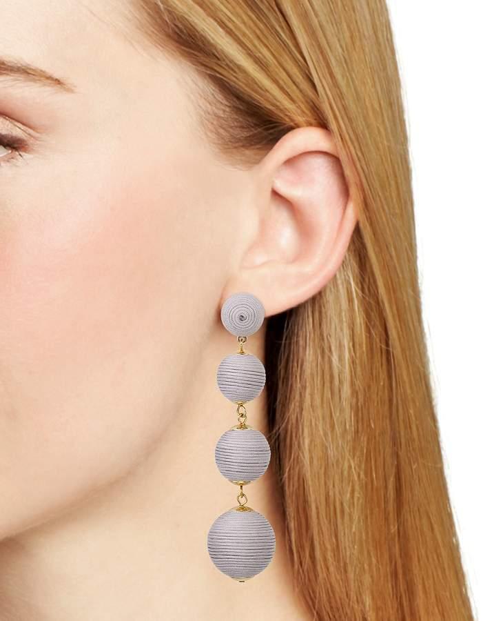 Aqua Margot Ball Drop Earrings - 100% Exclusive