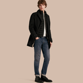 Burberry Car Coat With Detachable Down-filled Gilet , Size: Xxl, Black