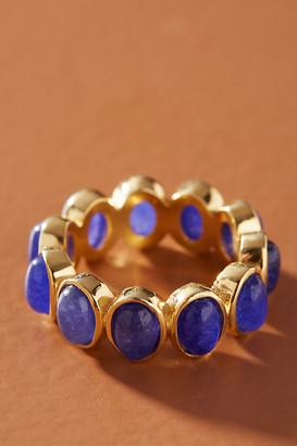 Jemma Sands Portugal Gemstone Ring By Jemma Sands in Blue Size 6