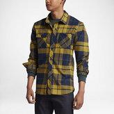 Nike SB Plaid Men's Woven Long-Sleeve Shirt