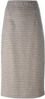 P.A.R.O.S.H. pencil mid-length skirt