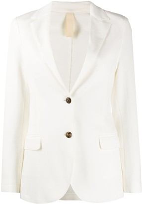Eleventy Fitted Single Breasted Blazer