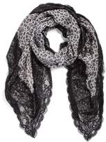 La Fiorentina Women's Animal Print Scarf