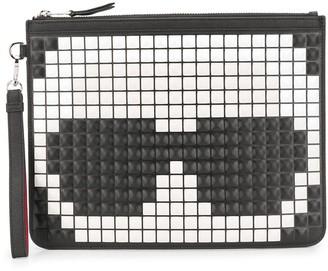 Karl Lagerfeld Paris K/Pixel clutch bag