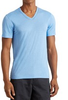 John Varvatos Pintuck V-Neck Tee