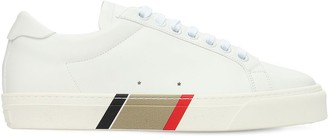 Burberry Rangleton Leather Low Top Sneakers