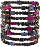 Erickson Beamon Crystal Cuff Bracelet