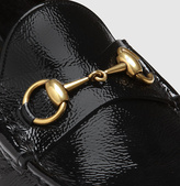Gucci 1953 Horsebit Loafer In Patent Leather