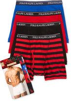 Polo Ralph Lauren Holiday Men's 3+1Bonus Pack Boxer Briefs