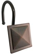 Elegant Home Fashions Square Diamond Shower Hooks (Set of 12)