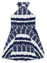 Un Deux Trois Girl's Printed Dress