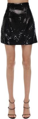 Amen Sequined Mini Skirt