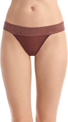 Commando Kitty Lace Soft Thong