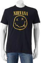 Men's Nirvana Smile Logo Tee