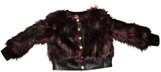 Balmain For H&M For H&m \N Red Faux fur Jackets