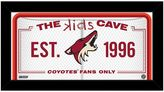 "Steiner Sports Arizona Coyotes 10"" x 20"" Kids Cave Sign"