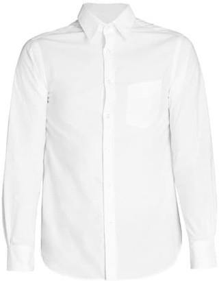 Officine Generale Benoit Stitch Button-Front Dress Shirt