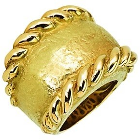 Katy Briscoe Sparks 18K Yellow Gold Large Ring