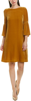 Lafayette 148 New York Roslin Silk-Blend Shift Dress