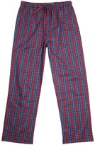 Derek Rose Ranga Checked Cotton Lounge Trousers